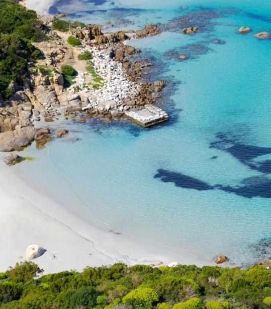 Spiaggia a Villasimius